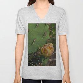 Cactus Bloom Unisex V-Neck