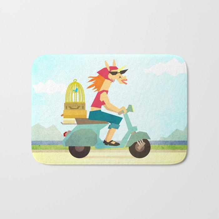 Enjoy the Ride Unicorn Bath Mat