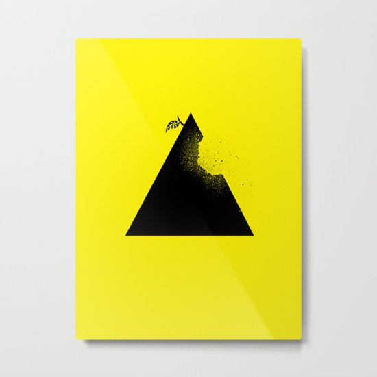 Apple pyramid Metal Print