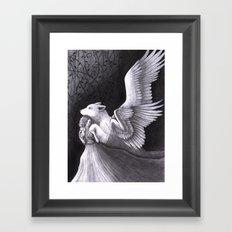 Drifting Framed Art Print