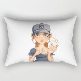ny fan Rectangular Pillow
