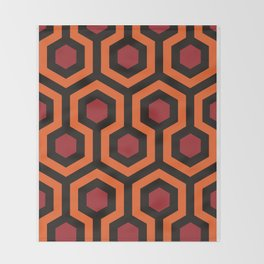 The Shining by Adam Armstrong Throw Blanket