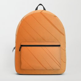 SIMPLE DOTS gold ON WHITE Backpack