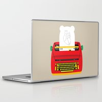 typewriter Laptop & iPad Skins featuring Typewriter by EinarOux
