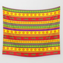 gecko mexican pattern Wall Tapestry