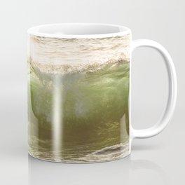 Green light water surf Coffee Mug