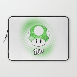 1-UP from Mario Laptop Sleeve