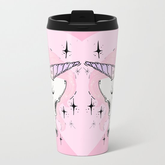 UNICORN *:・゚✧ Metal Travel Mug