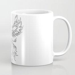 White Phoenix Coffee Mug