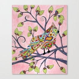 Grandma's Songbird Canvas Print