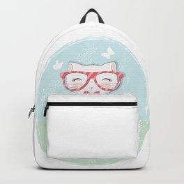 Cat Illustration, Kids Room Decor, iPhone Case, Pillow for girls, Duvet Cover Backpack