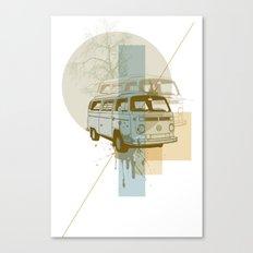 Camioneta Canvas Print