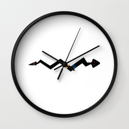 Snake - Native American Indian Symbol Wall Clock