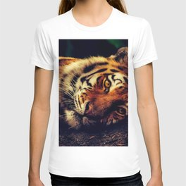 The Powerful Tiger at Rest T-shirt