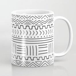Mud Cloth on White Coffee Mug