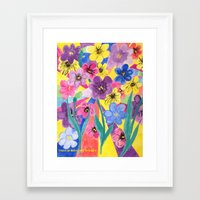 inspiration Framed Art Prints featuring Inspiration by Manuel Estrela 113 Art Miami