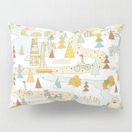 Over the River and Through the Woods Pillow Sham