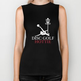 Disc Golf Hottie T-Shirt Biker Tank