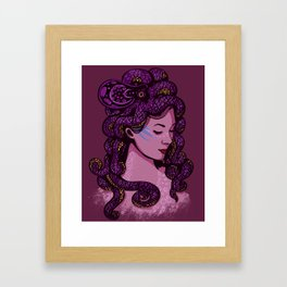 A Mermaid's Hair Framed Art Print