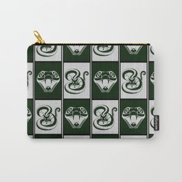 Slytherin Checkerboard Carry-All Pouch