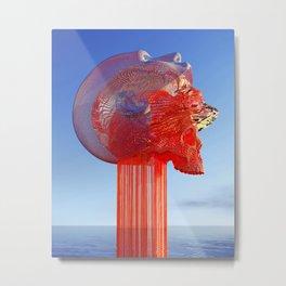 Digital Metamorphosis Metal Print