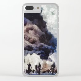 Pearl Harbor, WWII Clear iPhone Case