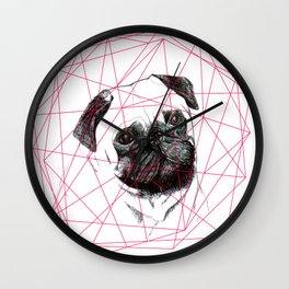 P U G  Wall Clock