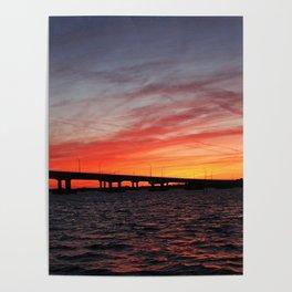 An Evening on the Caloosahatchee I Poster