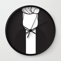 lynch Wall Clocks featuring Lynch by Ale Giorgini