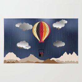 Balloon Aeronautics Rain Rug