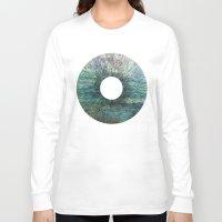 iris Long Sleeve T-shirts featuring Iris by James White