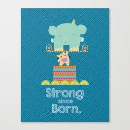 Baby Dragon Armstrong Canvas Print