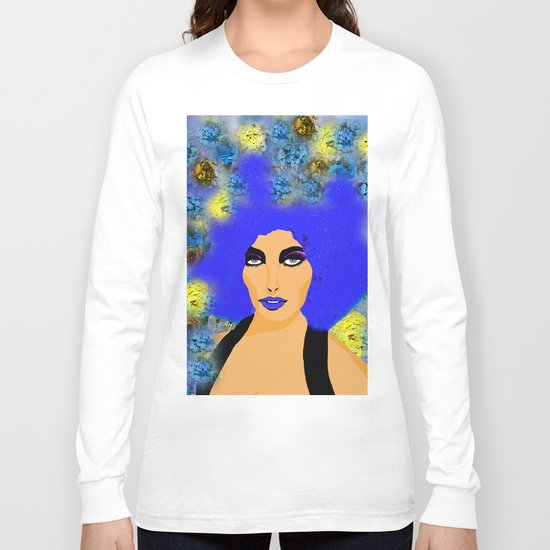 A WOMAN AND HER HAIR Long Sleeve T-shirt