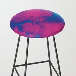 Cotton Candy Clouds Bar Stool