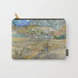 Vincent Van Gogh - Landscape at Saint-Rémy, Enclosed Field with Peasant Carry-All Pouch