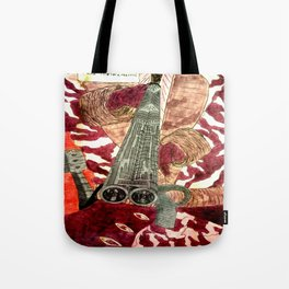 Silver Plated Tote Bag