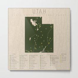 Utah Parks Metal Print