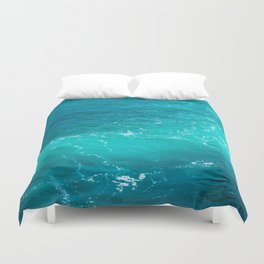 H2Oh, that's cold! Duvet Cover