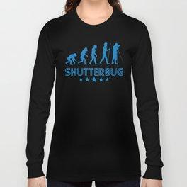 Retro Shutterbug Evolution Long Sleeve T-shirt