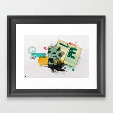 Moscow Framed Art Print