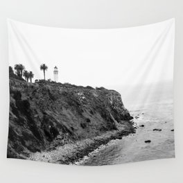 Point Vicente Lighthouse, Rancho Palos Verdes, California Wall Tapestry
