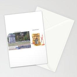 Real vs. Art: Treblinka Monument Stationery Cards