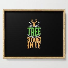 Hunting - Family Tree Serving Tray