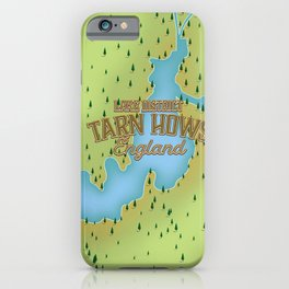 Tarn Hows, Lake District National Park, England iPhone Case