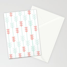 Arrows Pattern Stationery Cards