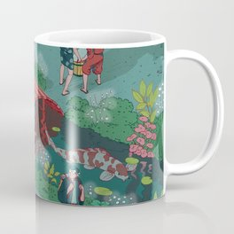 Ukiyo-e tale: The beginning of the trip Coffee Mug