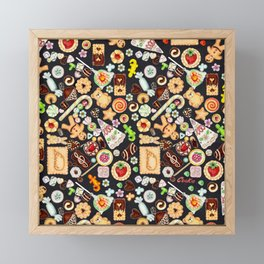 COOkies Framed Mini Art Print