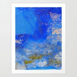 Lisbon blue #2 Art Print
