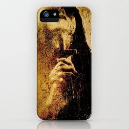 BLESSE'D ARE THE MEEK  iPhone Case