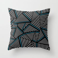 Ab Linear Inverted with Electric Throw Pillow
